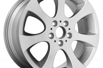 "Replace® ALY59586U20 - 18"" Remanufactured Front 7 Spokes All Painted Silver Factory Alloy Wheel"