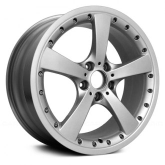"Replace® - 19"" Remanufactured 5 Spokes Machined with Silver Vents Factory Alloy Wheel"