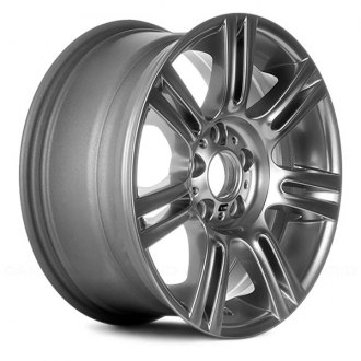 "Replace® - 17"" Remanufactured 7 Spokes Bright Hyper Silver Factory Alloy Wheel"