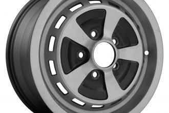 "Replace® - 15"" Remanufactured Dark Charcoal Machined Factory Alloy Wheel"