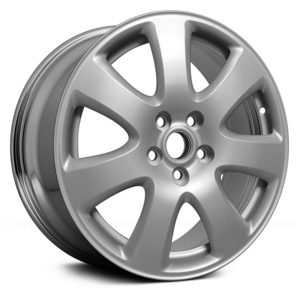 "Replace® - 17"" Remanufactured 7 Spokes Aftermarket Chrome Factory Alloy Wheel"
