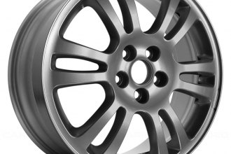 "Replace® - 18"" Remanufactured 15-Spoke Indianapolis Style Silver Factory Alloy Wheel"