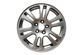 "Replace® - 18"" Remanufactured 15-Spoke Indianapolis Style Aftermarket Chrome Factory Alloy Wheel"