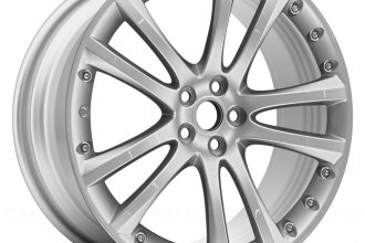 "Replace® - 20"" Remanufactured 5-Twin-Spoke All Painted Silver Factory Alloy Wheel"