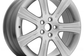 "Replace® - 18"" Remanufactured 7-Spoke with Groove All Painted Silver Factory Alloy Wheel"