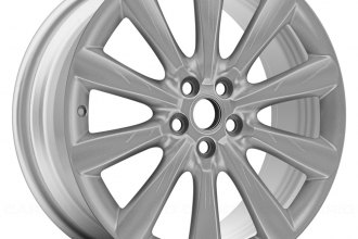 "Replace® - 19"" Remanufactured Front 10-Spoke All Painted Silver Factory Alloy Wheel"
