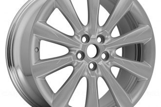 "Replace® - 19"" Remanufactured Front 10-Spoke Aftermarket Chrome Factory Alloy Wheel"