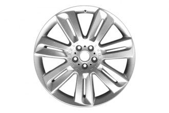 "Replace® - 20"" Remanufactured Front 7-Twin-Spoke All Painted Silver Factory Alloy Wheel"