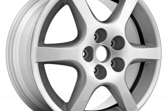 "Replace® ALY62398U20 - 17"" Remanufactured 6 Spokes Silver Factory Alloy Wheel"