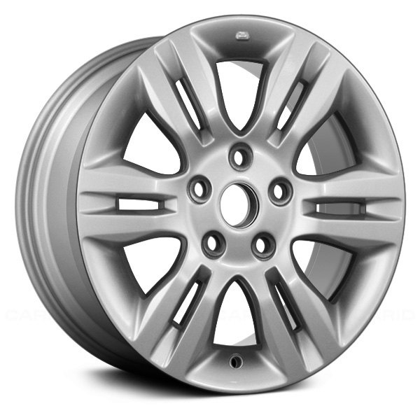 "Replace® - 16"" Remanufactured 6 Split Spokes Silver Factory Alloy Wheel"