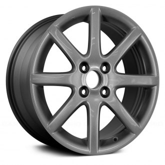 "Replace® - 16"" Remanufactured 8 Spokes Charcoal Gray Factory Alloy Wheel"