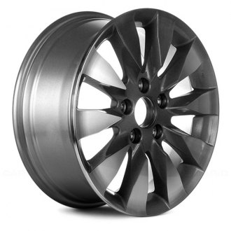 "Replace® - 16"" Remanufactured 10 Spokes Medium Gray Factory Alloy Wheel"