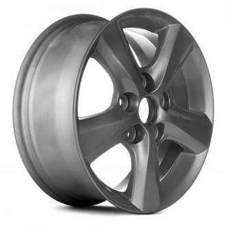 "Replace® - 15"" Remanufactured 5 Spokes Silver Factory Alloy Wheel"