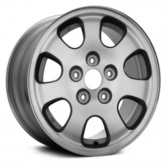 "Replace® - 15"" Remanufactured Front 7 Slots Standard Finish Factory Alloy Wheel"