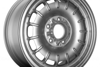 "Replace® - 14"" Remanufactured 15 Slots All Painted Silver Factory Alloy Wheel"