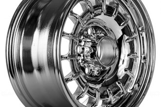 "Replace® - 14"" Remanufactured 15 Slots Aftermarket Chrome Factory Alloy Wheel"