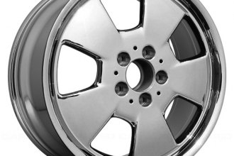 "Replace® - 17"" Remanufactured 5 Spokes Aftermarket Chrome Factory Alloy Wheel"