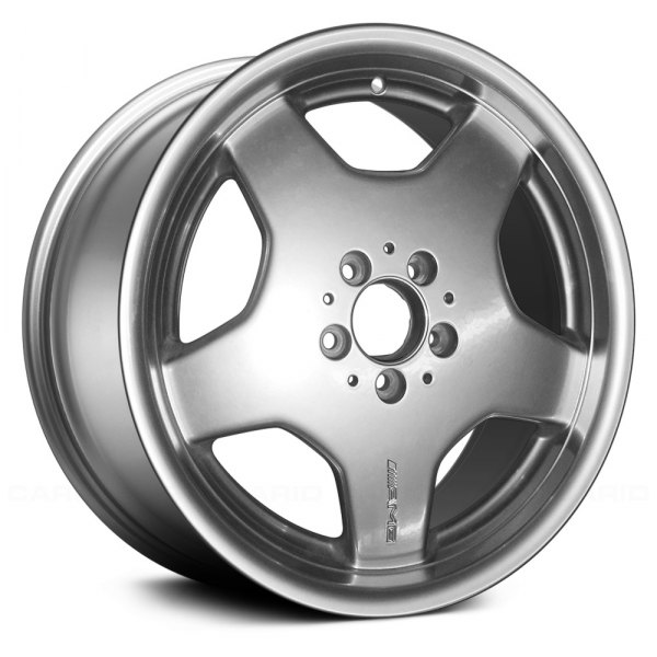 "Replace® - 18"" Remanufactured Rear 5 Spokes Hyper Silver Factory Alloy Wheel"