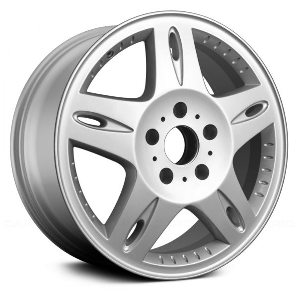 "Replace® - 18"" Remanufactured 5 Spokes Silver Factory Alloy Wheel"