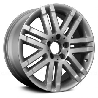 "Replace® - 17"" Remanufactured 7 Double Spokes All Painted Silver Factory Alloy Wheel"