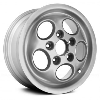 "Replace® - 15"" Remanufactured 5 Holes All Painted Bright Sparkle Silver Factory Alloy Wheel"