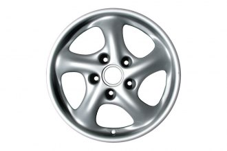 "Replace® - 17"" Remanufactured 5-Spoke Factory Alloy Wheel"