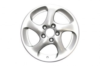 "Replace® - 18"" Remanufactured 5-Hollow-Spoke All Painted Silver Factory Alloy Wheel"