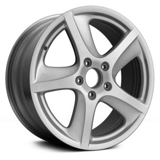 "Replace® - 18"" Remanufactured 5 Bladded Spokes Silver Factory Alloy Wheel"