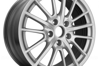 "Replace® - 19"" Remanufactured Front 15 Spokes All Painted Silver Factory Alloy Wheel"