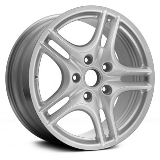 "Replace® - 18"" Remanufactured 5 Double Spokes All Painted Silver Factory Alloy Wheel"