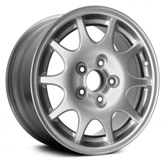 "Replace® - 15"" Remanufactured 10 Holes All Painted Silver Factory Alloy Wheel"