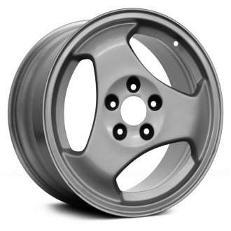 "Replace® - 16"" Remanufactured 3 Spokes All Painted Silver Factory Alloy Wheel"