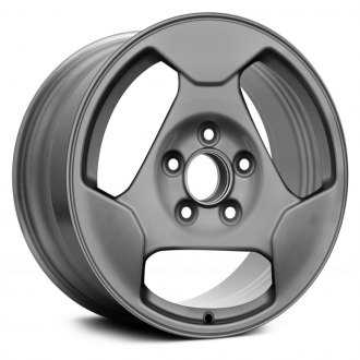 "Replace® - 15"" Remanufactured 3 Spokes All Painted Silver Factory Alloy Wheel"