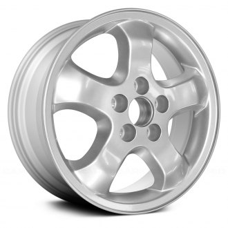 "Replace® - 16"" Remanufactured 5 Hump Spokes Silver Factory Alloy Wheel"
