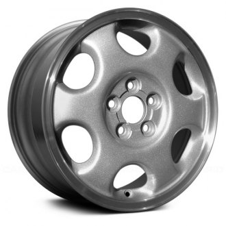 "Replace® - 15"" Remanufactured 6 Slots Standard Finish Factory Alloy Wheel"