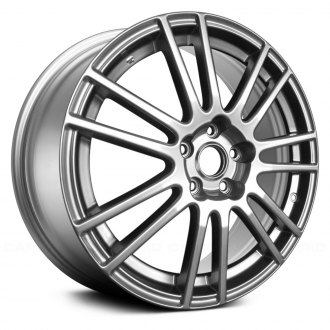 "Replace® - 18"" Remanufactured 14 Spokes Light Smoked Hyper Silver Factory Alloy Wheel"