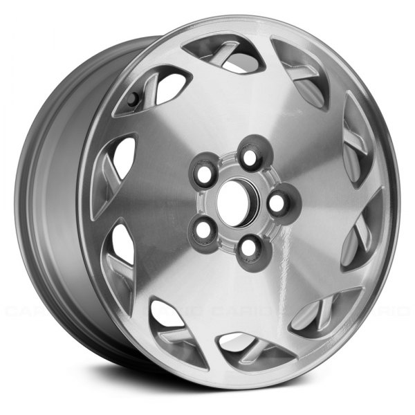 "Replace® - 16"" Remanufactured Driver Side 10 Spokes Silver Factory Alloy Wheel"