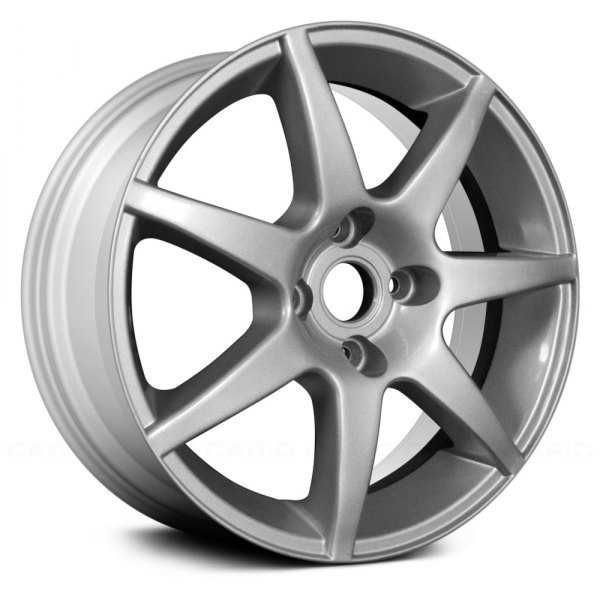 "Replace® - 15"" Remanufactured 7 Spokes Silver Factory Alloy Wheel"