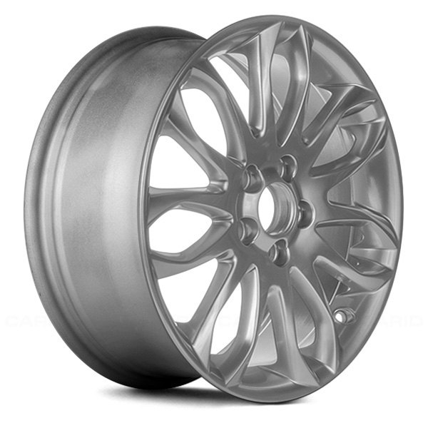 "Replace® - 17"" Remanufactured 14 Spokes Hyper Silver Factory Alloy Wheel"