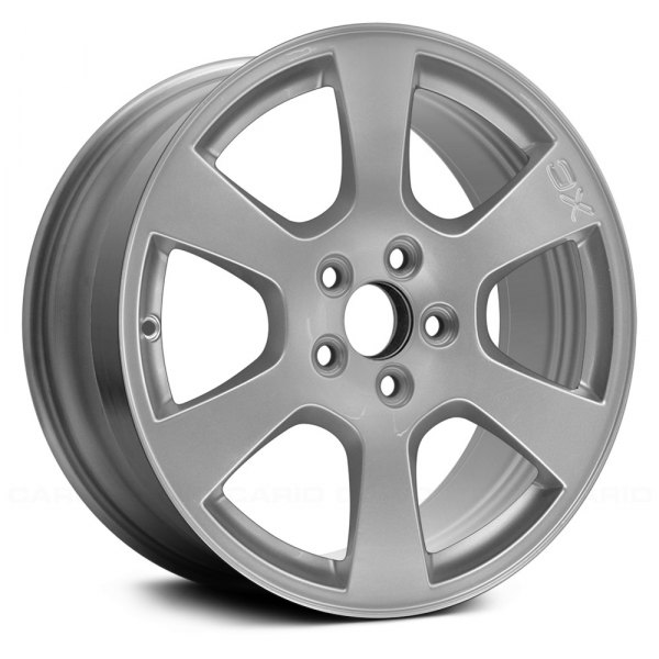 "Replace® - 17"" Remanufactured 6 Spokes Sparkle Silver Face Factory Alloy Wheel"