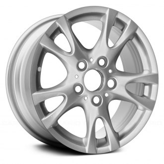 "Replace® - 16"" Remanufactured 5 V Spokes All Painted Silver Factory Alloy Wheel"