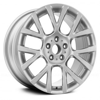 "Replace® - 18"" Remanufactured 14 Spokes Sparkle Silver Metallic Factory Alloy Wheel"