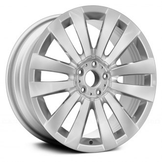 "Replace® - 20"" Remanufactured Rear 12 V Spokes All Painted Silver Factory Alloy Wheel"