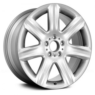 "Replace® - 19"" Remanufactured 7 Spokes All Painted Silver Factory Alloy Wheel"