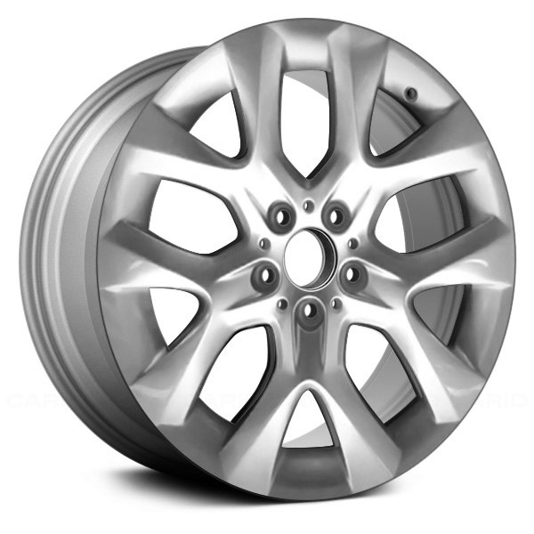 "Replace® - 19"" Remanufactured 10 Spokes All Painted Silver Factory Alloy Wheel"