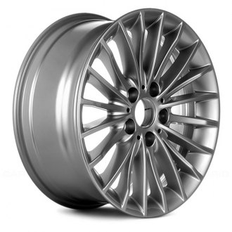 "Replace® - 17"" Remanufactured 20 Spokes All Painted Silver Metallic Factory Alloy Wheel"