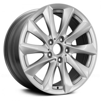 "Replace® - 18"" Remanufactured 10 Spokes All Painted Bright Silver Factory Alloy Wheel"