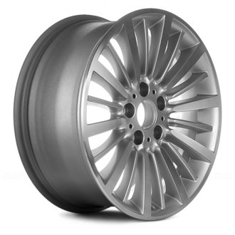 "Replace® - 18"" Remanufactured 20 Spokes Machined and Silver Metallic Factory Alloy Wheel"