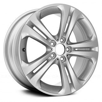 "Replace® - 19"" Remanufactured 5 Double Spokes All Painted Silver Metallic Factory Alloy Wheel"