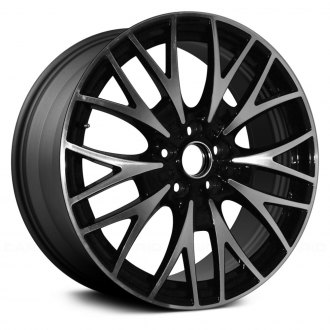 "Replace® - 20"" Remanufactured 10 Y Spokes Machined and Dark Charcoal Metallic Factory Alloy Wheel"